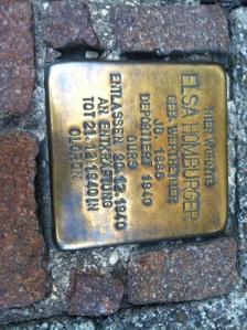a marca de bronze nazistas